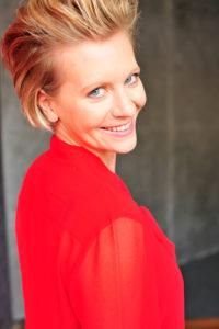 Daniela rote Bluse