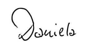 Unterschrift Daniela Schott