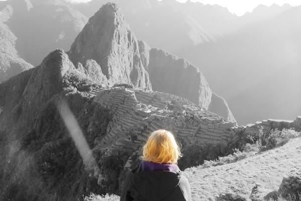 Ausblick Machu Picchu