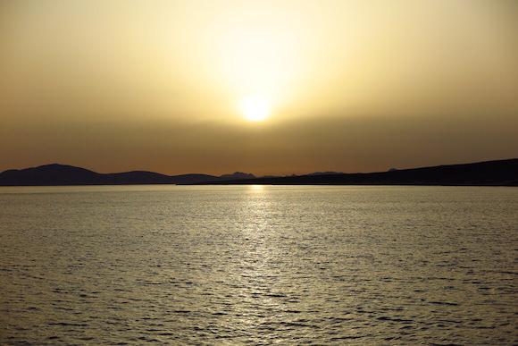 Sonnenuntergang Lemnos