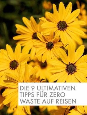 Mini-Guide Reisen und Zero Waste